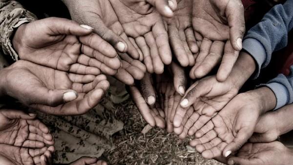 hands-donation